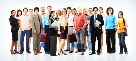 grote groep mensen: Groep van mensen uit het bedrijfsleven. Business team.   Stockfoto