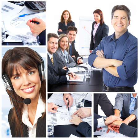 Business people. Business team. Teamwork photo