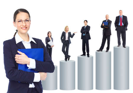 Group of business people. Business team. Stock Photo - 8950286