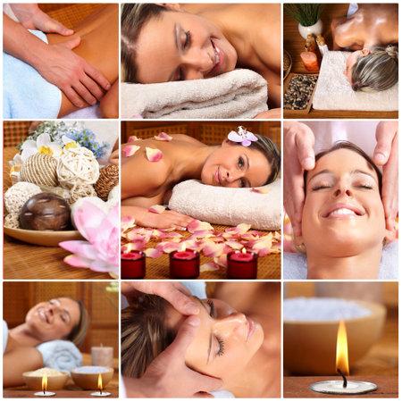 spa massage Stock Photo - 8950530