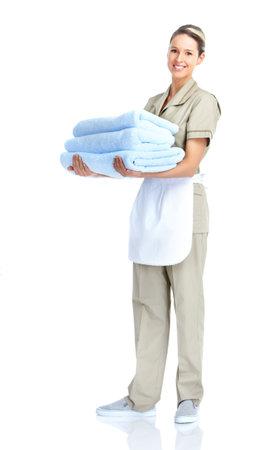 hotel staff: Waitress