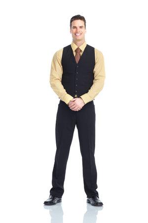 waiter man photo