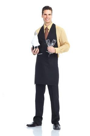 Homme Waiter Banque d'images - 8950586