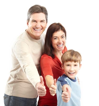 Happy family. Stock Photo - 8950615