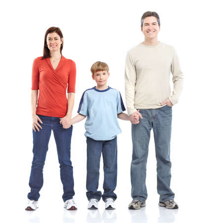 Happy family. Stock Photo - 8950619