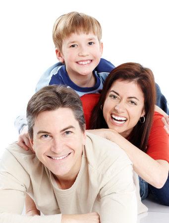 Happy family. Stock Photo - 8950624