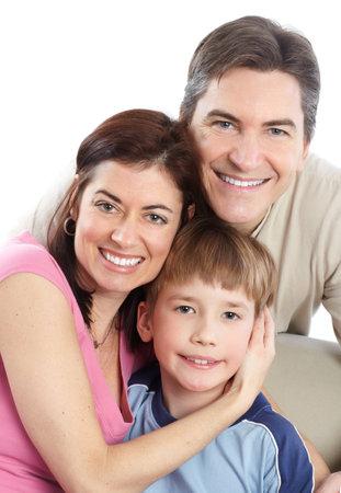 Happy family. Stock Photo - 8950676