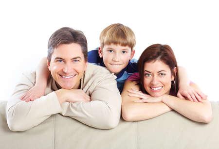 Happy family. Stock Photo - 8950632
