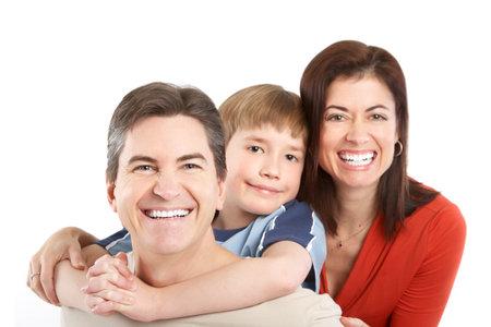 Familia feliz. Foto de archivo - 8950608