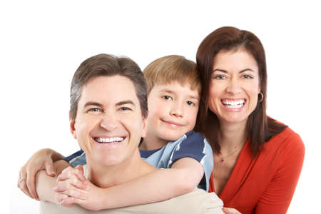 Happy family. Stock Photo - 8950608