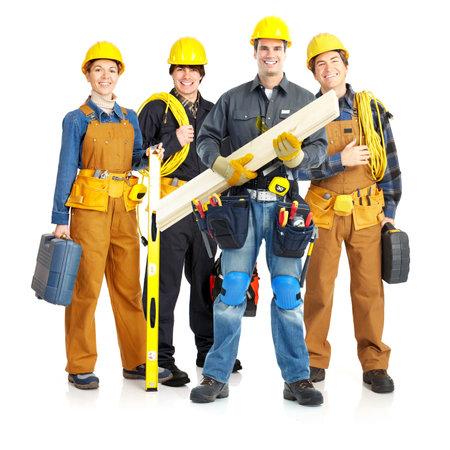 building worker: work27fe-3(3).jpg Stock Photo