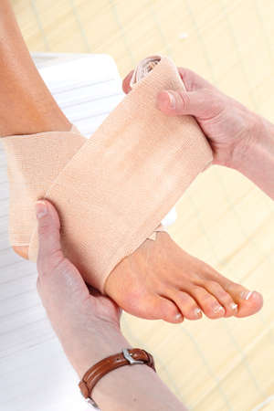 Foot Bandage  photo