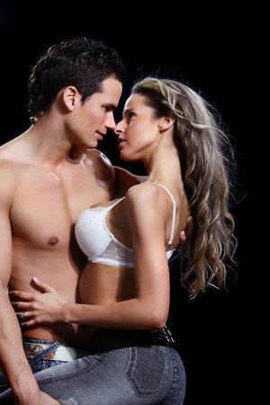 black sex: Love couple