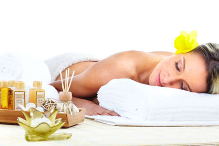 spa massage Stock Photo - 9050910