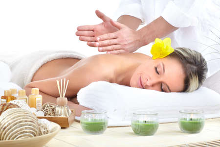 spa massage Stock Photo - 9050921