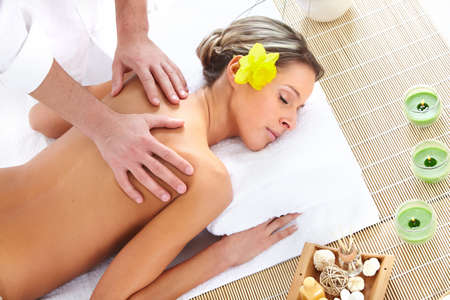 spa massage Stock Photo - 9050944