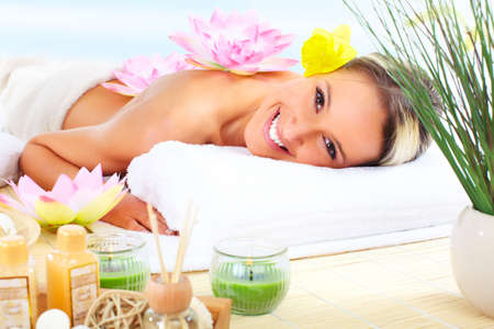 holistic health:  spa massage