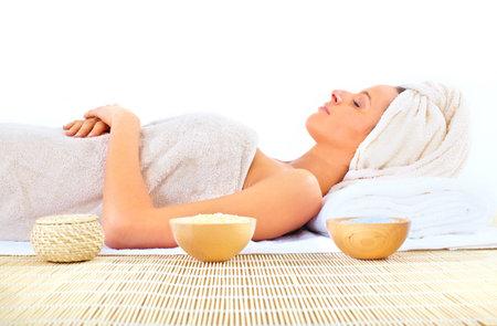 spa massage Stock Photo - 9050923