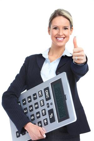 bookkeeping: Mujer de negocios