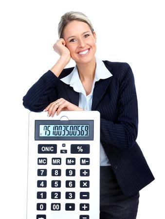 impuestos: Mujer de negocios