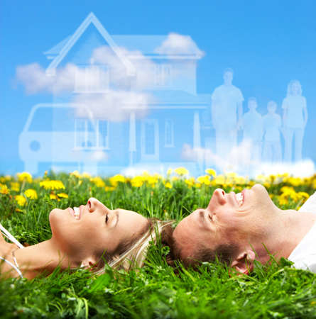 couple dreaming Stock Photo - 9050912