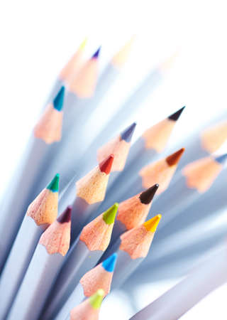 creativity:  color pencils