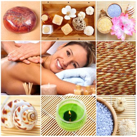 spa massage Фото со стока - 9051068