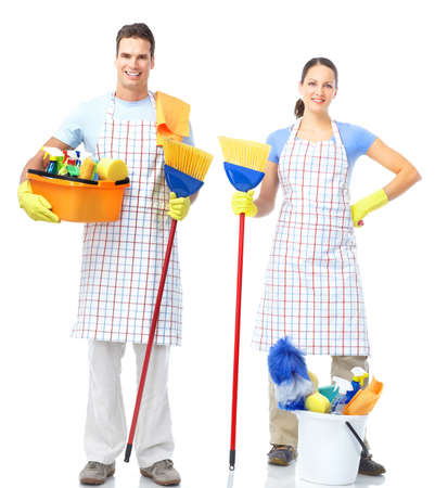 Cleaners. Stock Photo - 9051040
