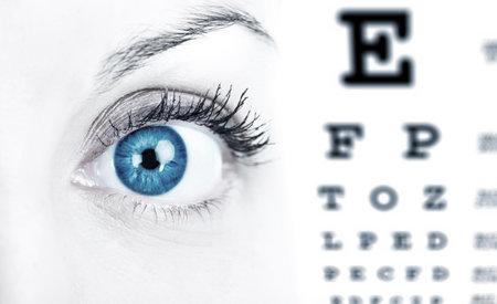 sight chart: Cuidado del ojo.