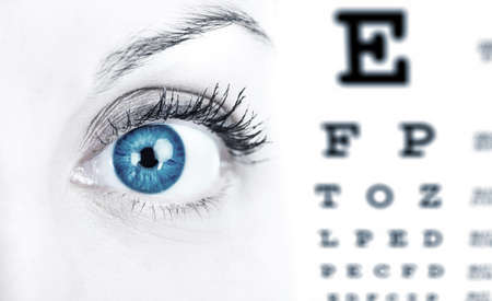 Eye care. photo