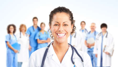 Doctor. Medical team Stock Photo - 9109354