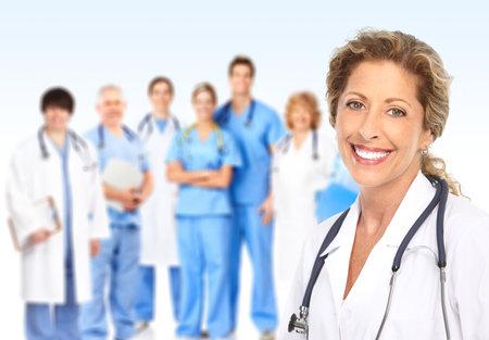 doctor verpleegster: Doctor. Medisch team Stockfoto