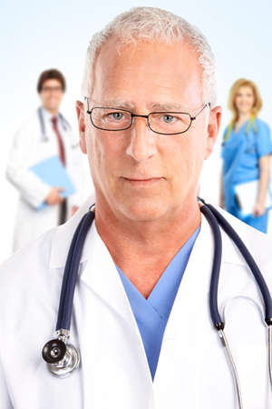 Doctor. Medical team photo