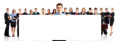 reunion de trabajo: Equipo de personas de negocios. Foto de archivo