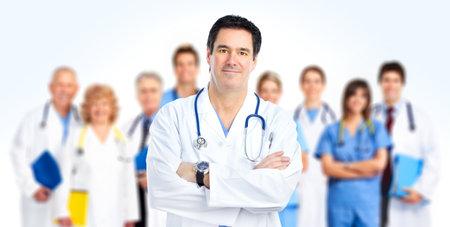 dottore stetoscopio: Medici. Medicat squadra.