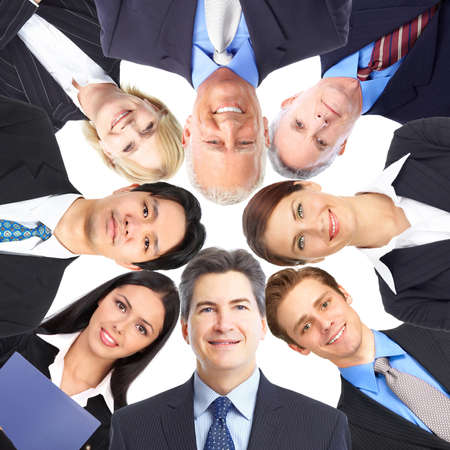 Business people team. Stock Photo - 9138653