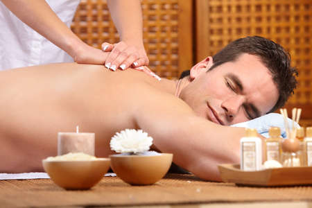 massage homme: massage