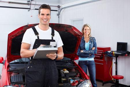 Mécanicien automobile Banque d'images - 9130235