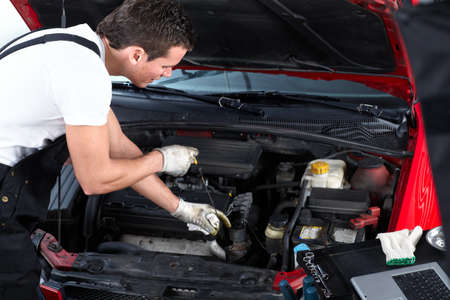 Auto repair Stok Fotoğraf - 9130051