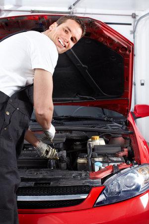 Auto mechanic photo