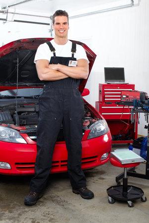 Auto mechanic Stock Photo - 9130050