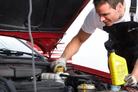 Mécanicien automobile Banque d'images - 9138796