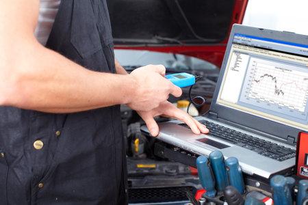 Auto mechanic Stock Photo - 9140304