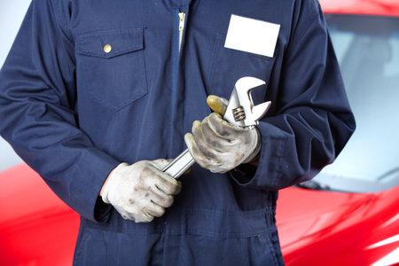 Auto-service Standard-Bild - 9140318