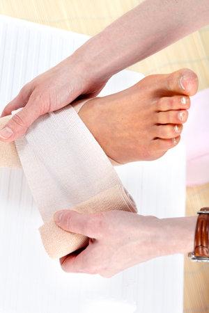 Foot pain Stock fotó