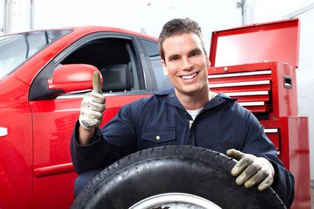 reparation automobile: R�paration auto Banque d'images