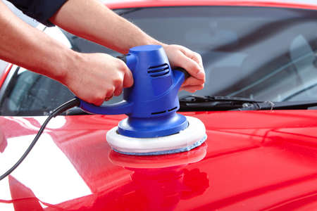 Auto polisher Stock Photo - 9140336