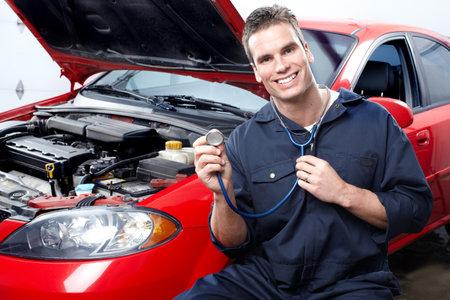 Mécanicien automobile Banque d'images - 9140220