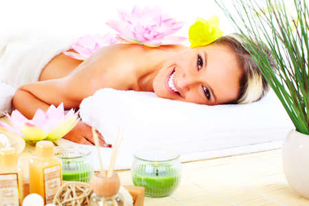 spa massage Stock Photo - 9245711