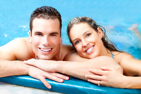 body spa: Couple Stock Photo